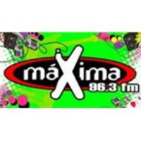 Logo de la radio Maxima FM 96.3