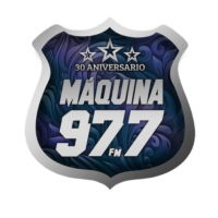 Logo of radio station La Máquina 977