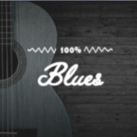 Logo of radio station 100FM - Blues