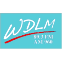 Logo of radio station WDLM Moody Broadcasting Network 89.3 FM