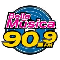 Logo de la radio XHVER Bella Música FM 90.9