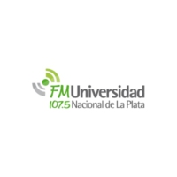 Logo of radio station Radio Universidad Nacional de La Plata FM 107.5