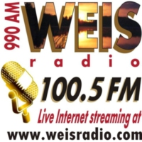 Logo of radio station WEIS 990