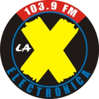 Logo of radio station La X  Electrónica