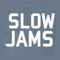 Logo of radio station slow jams radio
