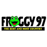 Logo of radio station WFRY-FM Froggy 97