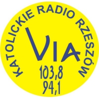 Logo of radio station Radio VIA Rzeszow