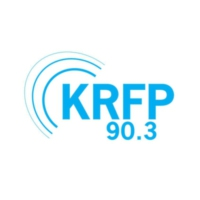 Logo of radio station KRFP 90.3 FM