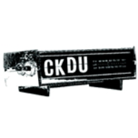 Logo of radio station CKDU Radio FM