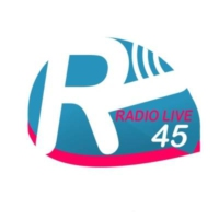 Logo of radio station RADIO LIVE45