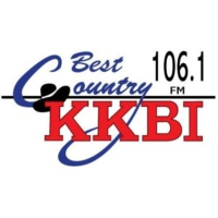 Logo of radio station KKBI