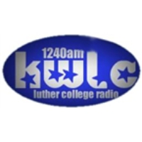 Logo of radio station KWLC Luther College