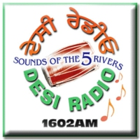 Logo of radio station Desi Radio