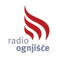 Logo of radio station Radio Ognjišče