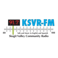 Logo of radio station KSVR 91.7 FM