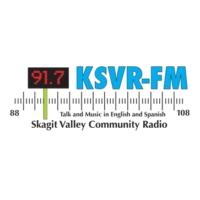 Logo de la radio KSVR 91.7 FM