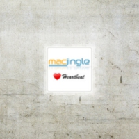 Logo of radio station MacJingle Heartbeat