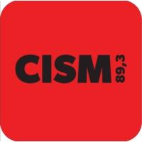 Logo de la radio CISM 89.3 FM