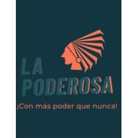 Logo of radio station la poderosa