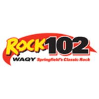 Logo of radio station WAQY Rock 102