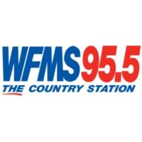 Logo of radio station WFMS 95.5