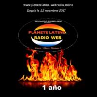 Logo of radio station Planète Latine Radio Web