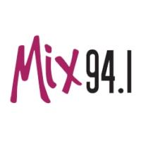 Logo of radio station KMXJ Mix 94.1 FM