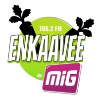 Logo of radio station ENKAAVEE op MIG