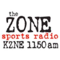 Logo of radio station KZNE 1150 AM
