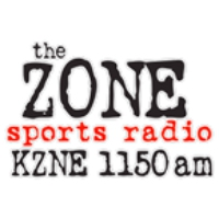 Logo of radio station KZNE 1150 AM