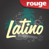 Logo of radio station Rouge FM Latino