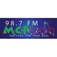 Logo of radio station MCF Radio 98.7 FM