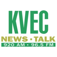 Logo of radio station KVEC 920 AM