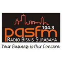 Logo of radio station Pas FM 104.3