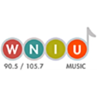Logo of radio station WNIU 90.5
