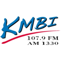 Logo of radio station KMBI Moody Broadcasting Network 107.9 FM