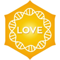 Logo of radio station Positivity Love