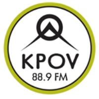 Logo of radio station KPOV