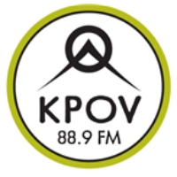 Logo of radio station KPOV