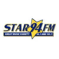 Logo of radio station KNCO Star FM
