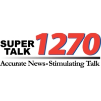 Logo of radio station KLXX Super Talk 1270