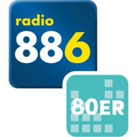 Logo of radio station 88.6 Die 80er