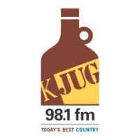 Logo of radio station 98.1 KJUG