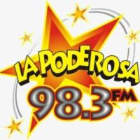 Logo de la radio XHBF La Poderosa 98.3 FM