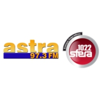 Logo of radio station Astra FM 97.3