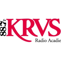 Logo of radio station KRVS 88.7