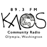 Logo of radio station KAOS
