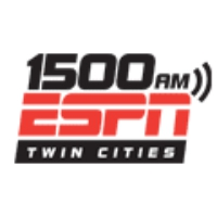 Logo of radio station KSTP ESPN Twin Cities 1500