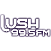 Logo of radio station Lush 99.5