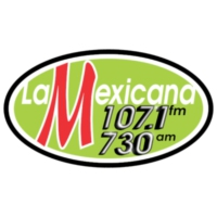 Logo of radio station XHEHB Mexicana 107.1 FM